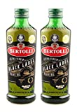 Bertolli Black Label Natives Olivenöl Limited Edition 2er Set, 2x 500ml