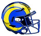 NFL St. Louis Rams Unisex Los Angeles Rams authentischer Helm, Team-Farbe, 30,5 cm