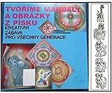 Satz Von Sand-Mandalas 07 - Tiere, Zoo -, Kreativ-Set, Schule Der Kreativität