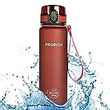PROIRON Trinkflasche 1l/500ml Fahrrad Trinkflasche Sport aus Tritan Auslaufsicher 1 klick öffnen...