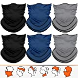 JOEYOUNG Kopfband Bandanas Multifunktionale Schlauch Kopfbedeckung Halstuch Kopftuch für Frauen...