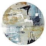 WCZ Wohnzimmer Bodenmatte Dekoration Teppiche Teppich Individualität Abstrakter runder Teppich...