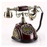 WSZMD Retro Wandtelefon Retro Festnetztelefon Vintage Moded Fest Telefon Gemacht Vom...