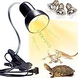 Schildkröten Wärmelampe Reptilien Terrarium Lampe, 25W 50W Reptilien Heizlampe UV Wärmespotlampe...