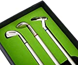 Lzdingli 3PCS Golfer Geschenk Box Set mit Blle Flagge Briefpapier Dekorationen, Desktop Dekorationen...