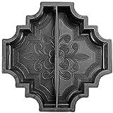 @tec Betonform Schalungsform Gießform Polypropylen (Kunststoff) - Gehwegplatte/Terrassenplatte...