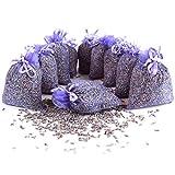 Quertee 10 x Lavendelsäckchen Lavendel Duftsäckchen mit französischen Lavendel zum Entspannen und...