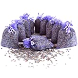 Quertee 10x Lavendelsäckchen mit echtem französischen Lavendel – 100g Lavendelblüten verpackt...
