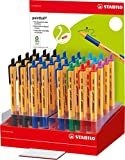 STABILO 6030/32–1Punkt Kugelschreiber, verschiedene Farben (6Stück)