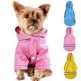 Smoro Im Freienwelpen Haustier Regenmantel mit Hauben Wasserdichten Jacken PU Reflektierendem...