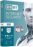 ESET Internet Security 2020 | Fr 1 Gert | 1 Jahr Virenschutz | Fr Windows (10, 8, 7 und Vista) |...
