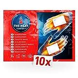 THE HEAT COMPANY Handwärmer - 10 Paar - EXTRA WARM - Taschenwärmer - 12 Stunden warme Hände -...