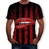 Anglewolf Herren T-Shirt Kurzarmshirt Oversize Longshirt Basic O-Neck Herren T-Shirt T Shirt Kurzarm...