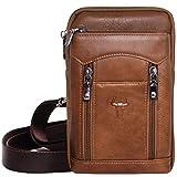 Tactical iPhone 7 Plus Hüllen Leder Messenger Bag Travel Waist Pack