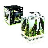 Aquael Aquarium Shrimp Set SMART LED, Komplettset mit moderner LED-Beleuchtung (schwarz, 30 Liter)
