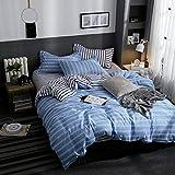 CTOBB Stern Owl Plaids 4pcs Bettdecke Set Cartoon Bettbezug Erwachsene Kinder Jungen Bettwäsche und...