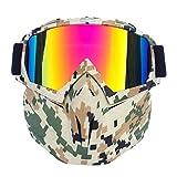 Skibrillen Schneeglatten UV-Schutz Skifahren Eyewear Winter Winddichte Skibrillen...