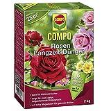 COMPO Rosen Langzeit-Dünger, 2 kg, Sie erhalten 1 Packung