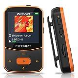 MP3 Player Bluetooth 5.0 Sport - Verlustfreier Sound FM Radio,Sprachaufzeichnung,E-Book und andere...