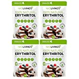 NKD Living Erythritol-Granulat, 300 g 4 Packs