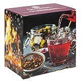 Premium Früchtetee-Adventskalender 2020 XL, 24 fruchtige Gourmet-Teesorten, 231g loser Tee,...