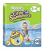 Huggies Little Swimmers Schwimmwindeln, Gr.3/4 (7 - 15 kg), 1 Packung mit 20 Stck
