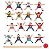 Stapel- Und Balancespiel - Stapelspiel Holz Balancespiel Für Kinder, Pädagogisches Stapelspiel -...