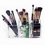 Kosmetik Organizer – Meersee Makeup-Pinsel Becher Acryl Kosmetik Aufbewahrung Kosmetikpinsel...