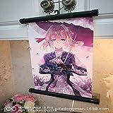 Kleine Achse malerei kleine hängende Bild Anime Junge mädchen raumdekoration malerei w 60 * 90 cm