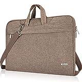 Voova Laptoptasche 15 16 15.6 Zoll Laptop Hülle Tasche mit Griff Schulterriemen, Wasserdicht...