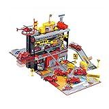 Matuke Spiel Parkhaus, Autogarage mit 3 Ebenen und Mehrere Fahrzeugen Parkgarage Kinder Parkhaus...
