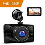 APEMAN Dashcam Car Camera Full HD 1080P DVR with 170° Wide Angle, 3' LCD Screen, G-Sensor, WDR,...