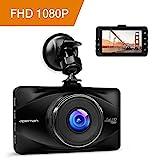 APEMAN Full HD 1080P Dashcam Autokamera Video Recorder mit 170 Weitwinkelobjektiv, 3 Zoll...