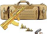 XXLGCC Waffentasche für Langwaffen, Große Kapazität und Multifunktion Doppelpistole Gun Bag,...