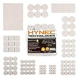 Hynec Premium Möbelschoner / Filzunterlage Mittleres Set mit 7 verschiedenen selbstklebenden...