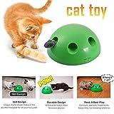 Katzenspielzeug Play Pet Toy Ball, interaktives Katzenspielzeug, Katzenkratzgerät Lustiges...