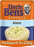 Uncle Ben's Express-Reis Kokos, 6 Packungen (6 x 220 g)