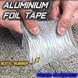 Starke Qualität wasserdichtes Klebeband Butylkautschuk Aluminiumfolie Tape, für Dachleckage,...