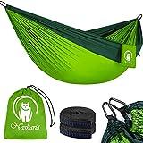 Nasharia Reise Camping Hngematte - 275 x 140 cm Atmungsaktiv, Schnelltrocknendes 210T Nylon Spinning...