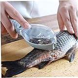 WQF Fischhaut Pinsel kratzen Fischschuppen Pinsel Reiben schnell entfernen Fischmesser Reinigung...