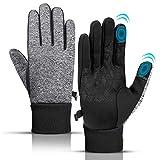 KEZKALS Handschuhe Herren Touchscreen - Geschenke für Männer, Outdoor Fahrradhandschuhe Handschuhe...