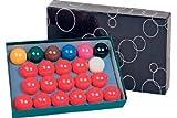 Billard Kugeln 'Standard', 52,4mm,Snooker