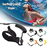 Surfboard Leash - 6 mm & 1.6m surfboard sup leash leine, sicherheitsfuß seil für paddling board,...
