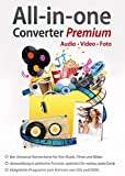 All in One Converter Premium - Video - Audio - Foto - Umwandlung, Bearbeitung, Konvertierung fr...