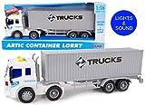 Toyland 40cm Container-LKW-Spielzeug mit Lichtern und Sound - Jungenfahrzeuge
