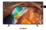 Samsung Q60R 108 cm (43 Zoll) 4K QLED Fernseher (Q HDR, Ultra HD, HDR, Twin Tuner, Smart TV)...