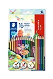STAEDTLER 187 C12P1 Noris Colour Buntstift (erhöhte Bruchfestigkeit, Dreikantform, attraktives...