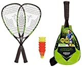 Talbot-Torro Speed-Badminton Set Speed 5500, 2 handliche Alu-Rackets 56,5cm, 6 windstabile...