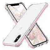 MATEPROX iPhone XS max Hülle,Shield Serien Robustes Schutzgehäuse,superklare PC-Rückseite,Silikon...