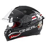 O'NEAL | Motorradhelm | Enduro Adventure Street | Sicherheitsnormen DOT und ECE 22.05, ABS-Schale,...